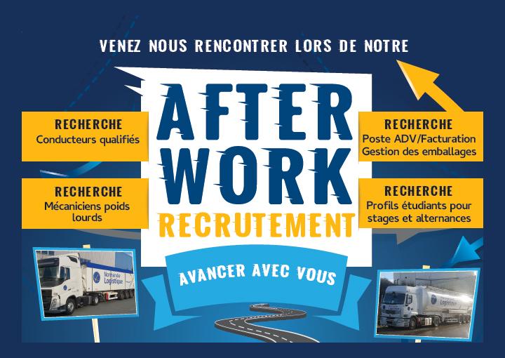 « After Work Recrutement » chez Normandie Logistique