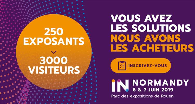 Les 6 et 7 juin à Rouen, IN NORMANDY : c'est le rendez-vous du numérique et de l'innovation
