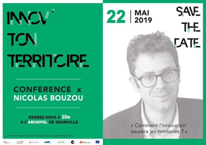 Granville Digital : une conférence en présence de Nicolas Bouzou !