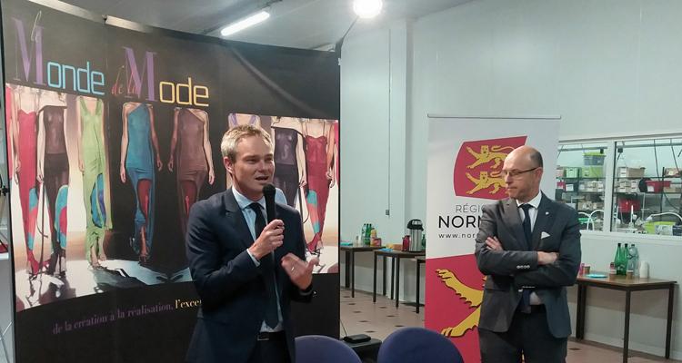 La Région signe un accord de partenariat avec la branche professionnelle Mode-Habillement-Maille