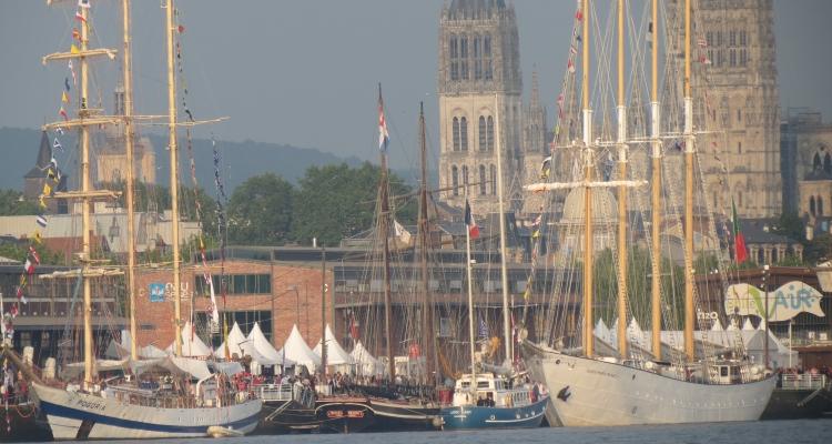 Armada 2019 : les premiers bateaux arrivent… Le Pont Flaubert fermé dès mercredi soir !