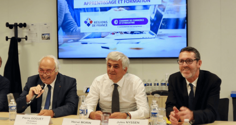 Rencontre de travail entre les régions et les CCI sur la mise en oeuvre de la réforme de l'apprentissage