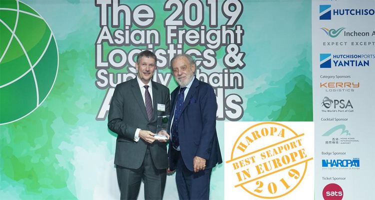 HAROPA réélu « Best seaport in Europe » 2019