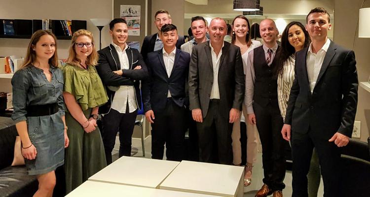 Partenariat fondateur entre l'IUP BFA de l'IAE de Caen et Financia Business School