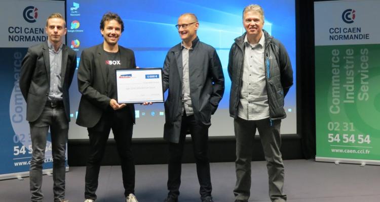 Accompagnée par la CCI Caen Normandie, la startup VinBOX décroche un prêt d'honneur d'Initiative Calvados