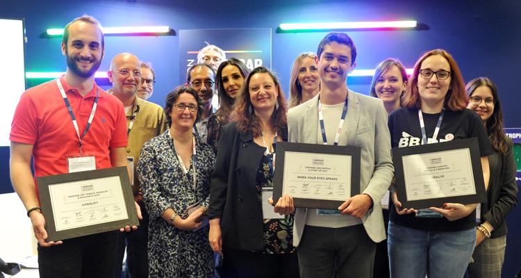 L'agence de communication et d'innovation sociétale BBIRD remporte le trophée AGEFIPH Emploi et Formation pour l'intégration du handicap !