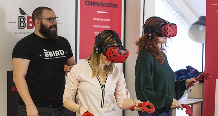 HANDICAP.FR : Sensibiliser via la réalité virtuelle avec Réalité de Bbird 1