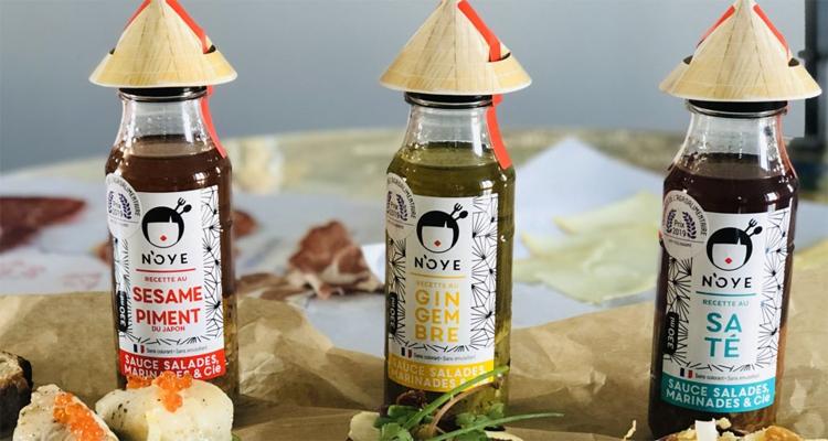 L'ensemble de la gamme N'OYE, Award d'or 2019 du concours Innovafood