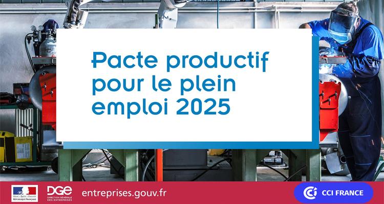 Pacte productif 2025 pour le plein emploi : les CCI Mobilisées !
