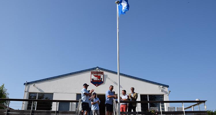 Le port de plaisance de Ouistreham hisse le Pavillon Bleu