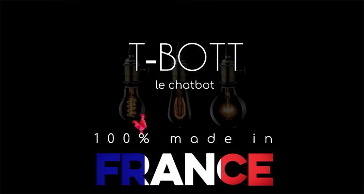 T-Bott, le chatbot français pour PME 100% made in Normandie