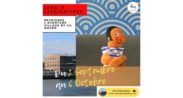 Jeunes entreprises prometteuses : accélérez au Village by CA Rouen Vallée de Seine !