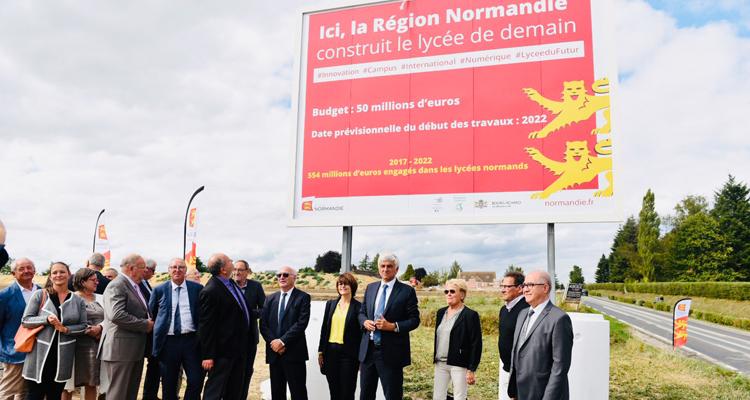 Bourg-Achard: Le projet de « Campus du futur » prend forme !
