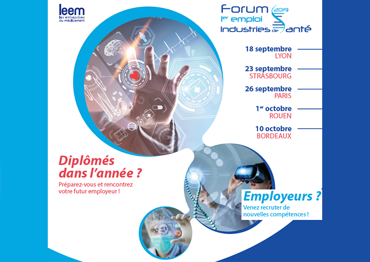 Le Forum 1er emploi des industries de santé 2019 fait halte à Rouen