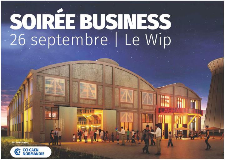 Soirée Business par la CCI Caen Normandie