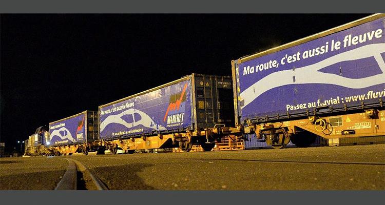 Marfret lance un service ferroviaire entre les ports de Rouen et Bonneuil-sur-Marne