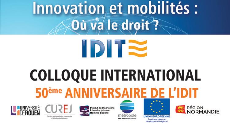 L'IDIT fête ses 50 ans !