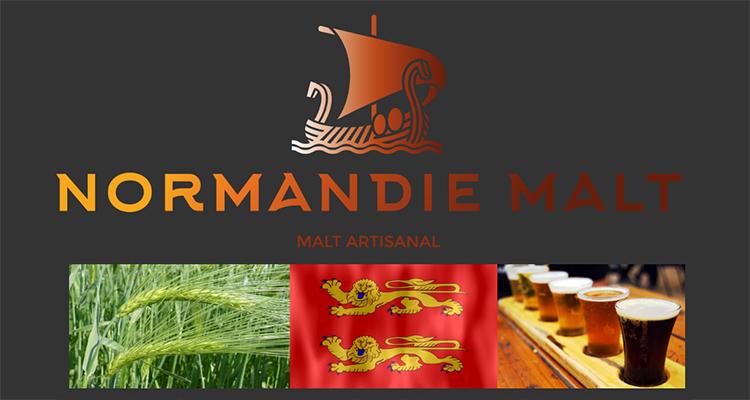 Inauguration de la 1ère malterie artisanale normande à Saint-Martin-des-Entrées, près de Bayeux