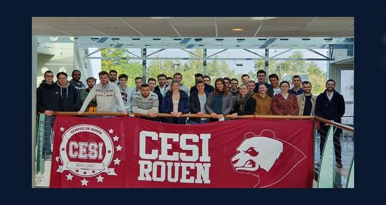CESI et ESITC Caen en partenariat avec Bâtiment CFA Normandie