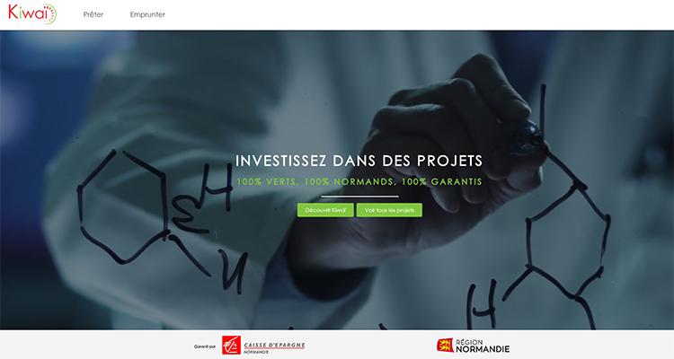 KIWAÏ, première plateforme normande de financement participatif par prêt dédiée à la transition écologique.