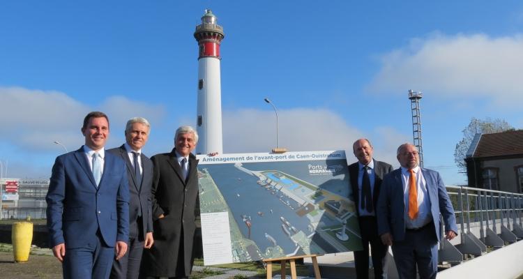 Port de Caen-Ouistreham : plus de 22 millions d'euros de travaux