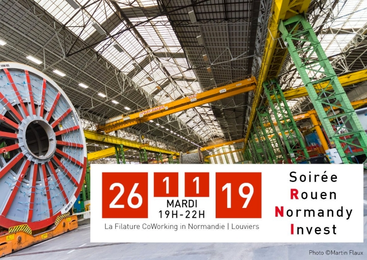 Soirée Rouen Normandy Invest – L'industrie en transition
