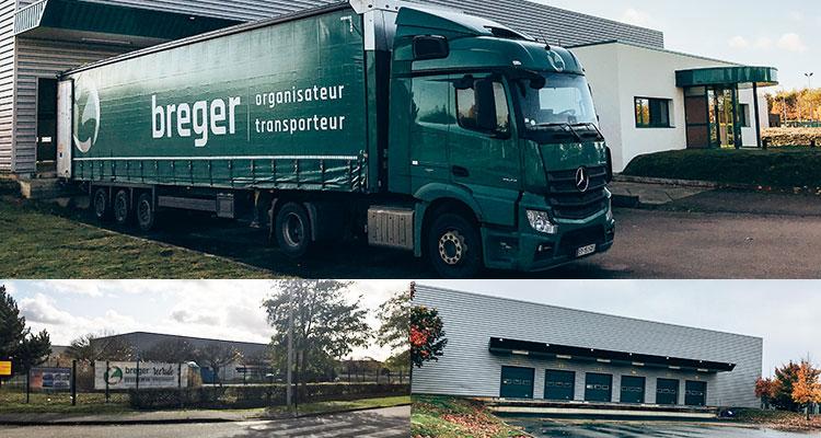 Transport : le groupe Breger ouvre une nouvelle agence à Evreux !