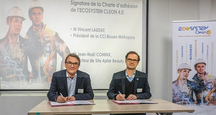Aptar Beauty & Home rejoint l'ECOSYSTEM CLEON 4.0
