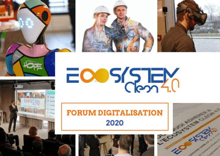 ECOSYSTEM CLEON 4.0 : Forum Digitalisation 2020