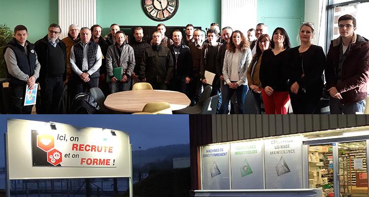 """Une formation """"Technicien d'usinage à commande numérique"""" en vallée de la Bresle-Vimeu avec la CCI Littoral Hauts-de-France"""