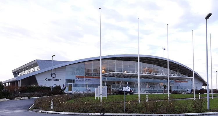 Malgré la crise sanitaire, l'aéroport de Caen-Carpiquet tire son épingle du jeu.