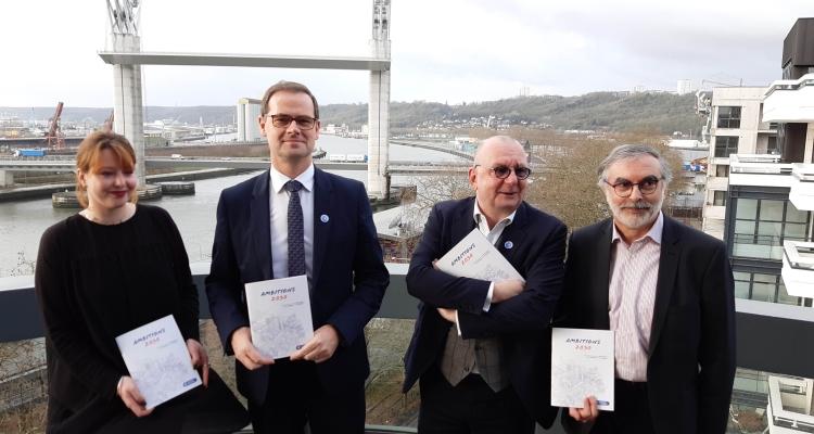 """""""Ambitions 2030"""", le document de campagne de la CCI Rouen Métropole"""