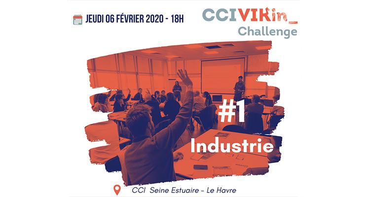 1ère édition du CCI VIKin_ Challenge Industrie