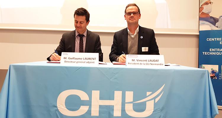 Le CHU de Rouen intègre l'ECOSYSTEM Cléon 4.0