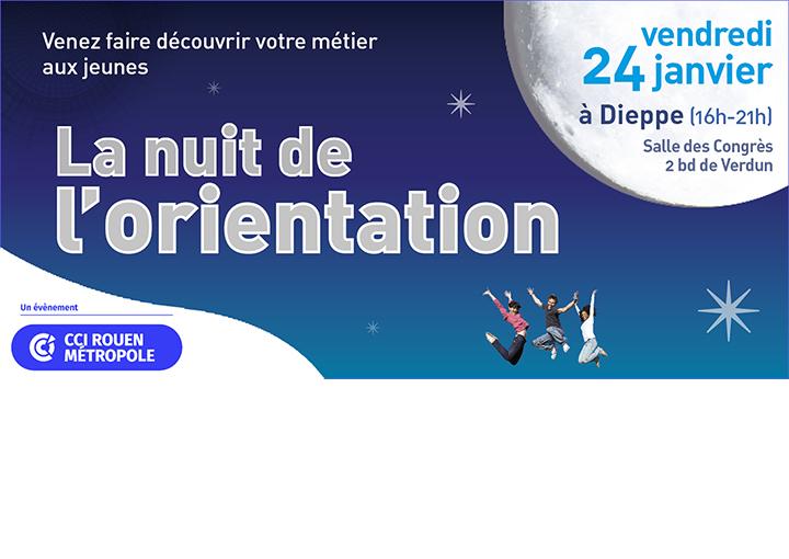 La Nuit de l'Orientation à Dieppe