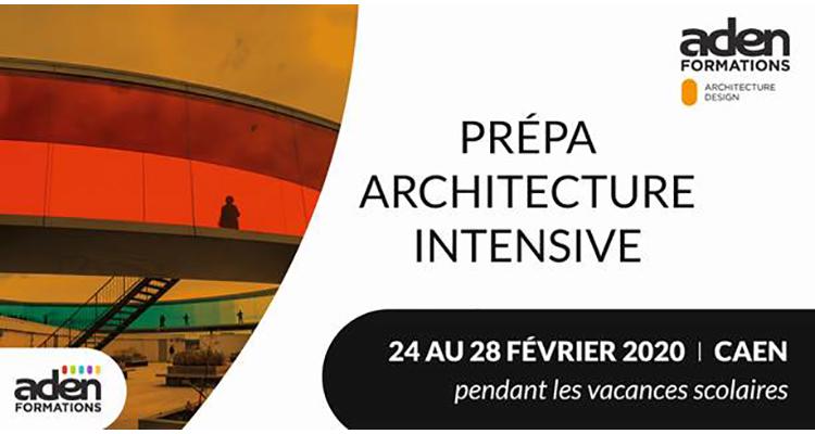 Une Prépa Architecture Intensive proposée par Aden Formation