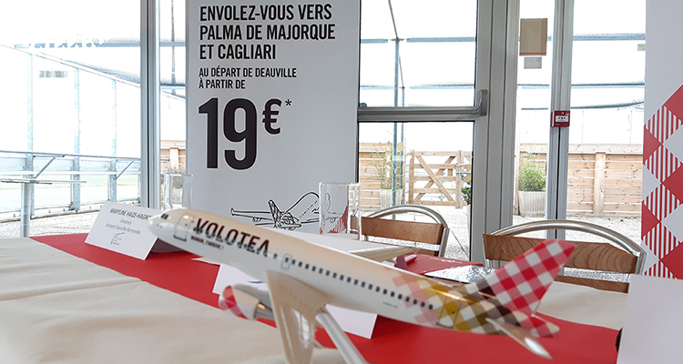 L'aéroport de Deauville accueille la compagnie aérienne Volotea avec deux destinations au soleil !