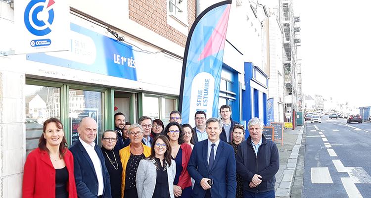 Fécamp : de nouveaux locaux pour la délégation de la CCI Seine Estuaire