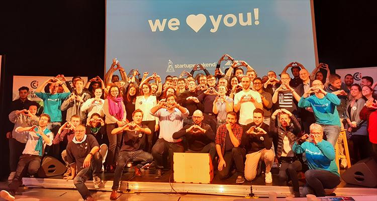 8ème édition du Startup Weekend Caen : une première aventure entrepreneuriale pour la plupart des participants