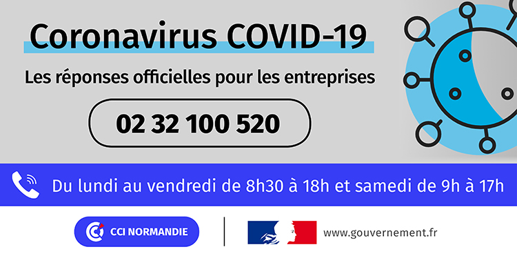 COVID-19 : la cellule opérationnelle des CCI de Normandie ouverte ce samedi