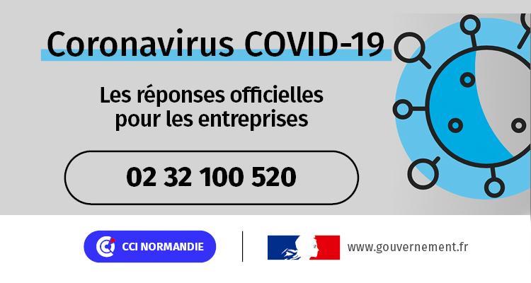 COVID-19 : les CCI de Normandie totalement mobilisées et partenaires des entreprises