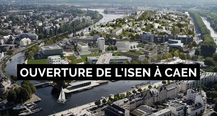 Une nouvelle école d'ingénieurs sur la Presqu'île de Caen !