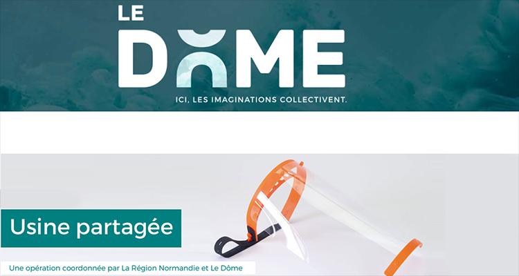 Une «Usine partagée» de production numérique à grande échelle d'équipements de protection sanitaire se met en place en Normandie
