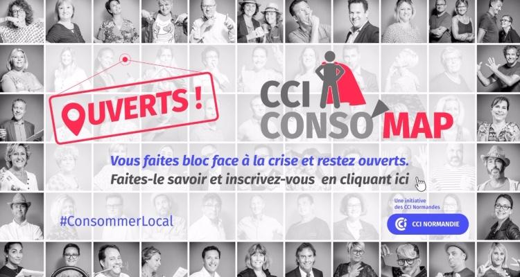 COVID-19 : Les CCI de Normandie lancent CCI CONSO'MAP