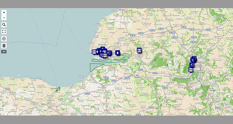 Haropa-COVID-19: une carte interactive pour les transporteurs routiers