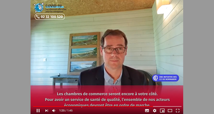 Plus forts ensemble ! Contactez la cellule COVID des CCI [VIDEO]