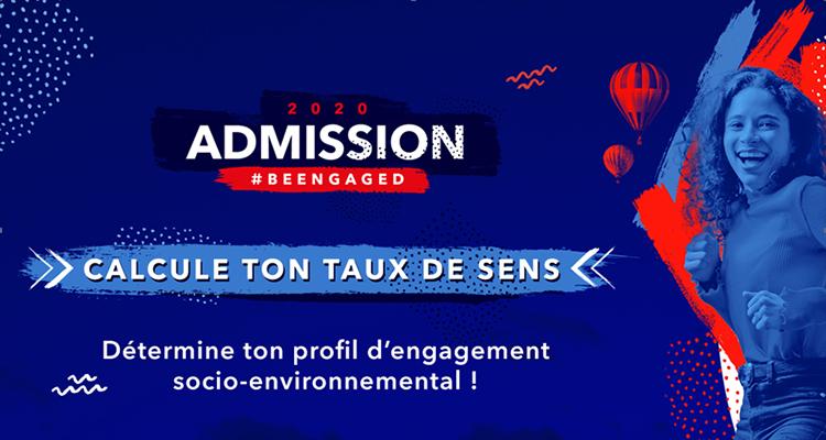 #BeEngaged : la campagne e-admission de l'EM Normandie