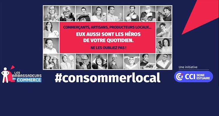 CCI Seine Estuaire : les super-héros du consommer local mis en avant