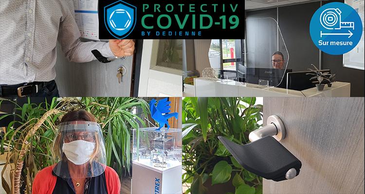 COVID-19 : Dedienne Multiplasturgy® Group lance un site de vente dédié pour commercialiser ses protections