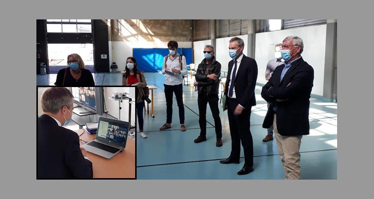Visite régionale pour le campus de Cherbourg du Groupe FIM